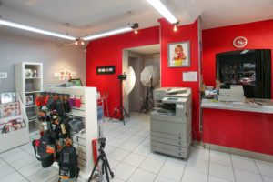 services en magasin