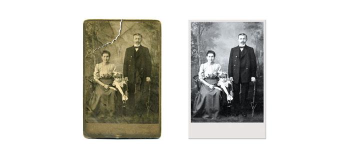 Reastauratioçn et agrandissement de vos vielles photos